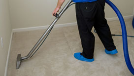 Specialist residential carpet cleaning